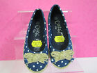 GIRLS CUTIE QT ESPADRILLS BLUE WITH WHITE SPOTS STYLE F2144