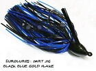 "PAYO DART JIG ""Black Blue/Gold Flake"""