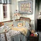 JESSICA McCLINTOCK BABY PUPPY LEAGUE DIAPER STACKER VALANCE BLANKET PILLOW NEW