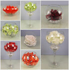 HIGH QUALITY ARTIFICIAL FLOWER ARRANGEMENTS - FISH BOWLS AND CRYSTAL DECORATIONS