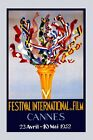 International Festival Film Movie 1952 Cannes Vintage Poster Repro FREE S/H