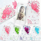 FAIRY BUTTERFLY CRYSTAL DIAMOND CASE FOR iPHONE 4 4S HARD CLEAR RCOVER FREE FILM