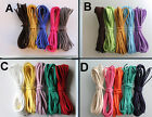 25 METERS MIXED SUEDE LEATHER LACE/CORD - pick a set