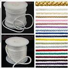 U-Pick 20 Shades 4mm 6mm 1m Silky  Lacing Light Pull Cord Crepe Craft Rope Cords