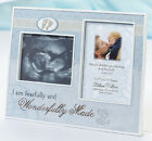Wonderfully Made Blue or Pink Ultrasound Frame Baby Boy or Baby Girl Baby Gift
