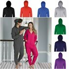 NEW TEXT PERSONALISED ADULT WOMENS MENS LADIES ONESIE SOFT FLEECE ONE PIECE