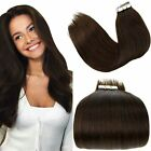 """New AAA 16""""-26"""" Human Tape Tip in Hair Extensions 20pcs 1.25g-3.5g/pc More Color"""