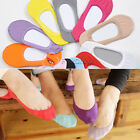 2 Pair Lady Womans Girls Candy Color Ankle Socks Lace Trim One Size 13 Colors
