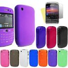 Solid Plain Silicone Gel Case Cover FOR Blackberry Curve 8520 Free Screen Film