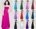 New Bridesmaid Evening Party Formal Prom Dress Ball Gown size 6 8 10 12 14 16-26