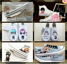 KPOP Bigbang G-Dragon GD EXO TVXQ canvas sports shoes sneaker shoe hot sale GIFT