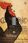 Light Switch Plate Switchplate Cover ~ Paris France COCORICO ROOSTER