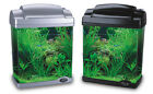 START UP AQUARIUM / FISH TANK - IDEAL FOR CHILDREN - BLUE, BLACK, PURPLE, SILVER