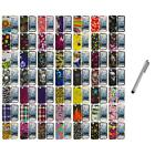 For iPod Touch 5th Gen 5G Design Hard Snap-On Rubberized Case Cover+Metal Pen