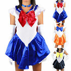 Sailormoon Sailor Moon Venus Uranus Costume Uniform Fancy Dress Outfit Gloves