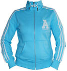 BRAND NEW ADIDAS WOMENS LADIES COLLEGEGATE TRACK TOP RRP £55 JACKET ORIGINALS @