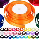 High Quality 22 Metres of Satin Ribbon 15mm in Multiple Colours