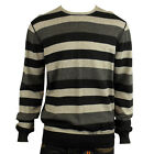 Mens Ben Sherman Crew Neck Indie Jumper Mod Retro Cotton Merino Wool Sweater