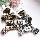 Cute Soft Warm Pet Doggie Puppy Snow Clothes Snowflake Deer Hoodie Jumpsuit New