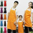 Dignified Lady Polyester Restaurant Home Kitchen Work Aprons With Many Colors