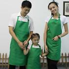 Plain Apron with Front Pocket women Chefs Butchers Kitchen Cooking Craft Baking