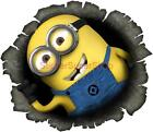 DESPICABLE ME 2 MINION IN MY WALL Movie Decal Removable WALL STICKER Home Decor