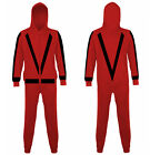 NEW ADULT MENS WOMENS MICHAEL JACKSON FANCY DRESS FLEECE ONESIE