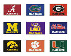 "Choose Your NCAA College A-M Team 20"" x 30"" Man Cave Starter Area Rug Floor Mat"