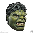 Hulk Mask Adult Full Overhead Marvel costume Mask 43724/26