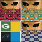 "Choose Your NFL Team 18"" x 18"" Modular Carpet Floor Tiles - 20 Tile Box Set"