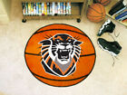 "Choose NCAA College D-I Team 27"" Round Basketball Area Rug Floor Mat by Fan Mats"