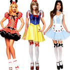 Halloween Fairytale Storybook Character Fancy Dress Costume Outfit Many Styles