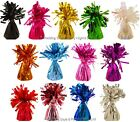 12 Colour Choice Helium Balloon Foil Weights Wedding Birthday Party Decorations
