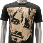 ASIA SIZE S M L XL Nirvana Kurt Cobain T-shirt Tour 1967-1994 Black Rock Many