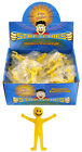 Yellow Smiley Stretchy Men Party Bag Stocking Fillers Toys Novelty Goods