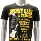 ASIA SIZE S M L XL Johnny Cash T-shirt Newport Folk Festival 1964 Many Size