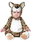 Child Infant Leapin' Leopard Fancy Dress Costume Animal Cat Kids Boys Girls