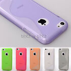 Hollow S Elegant Beauty TPU Protector Case Cover Skin For Apple iPhone 5C