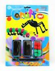 Make Your Own INSECTS & JUNGLE ANIMALS POM POM & WIGGLY EYE TOYS CRAFT KITS ET