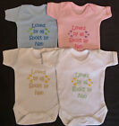 Loved By All Spoilt By Nan Babies Vest Grow Boy Girl Baby Clothes Funny Gift