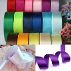 40mm 25 Yards Satin Ribbon Wedding Gift Craft Sewing DIY Decorations Accessory