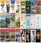 SLIM/SLIMLINE CALENDAR 2014 (Month to View) - Large Range of Designs