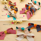 Girl's Cute Dotty Hair Clip Bow Butterfly Dot Spot Clips Ladies Women's Kids