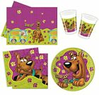 SCOOBY DOO PARTY RANGE (Tableware/Balloons/Colouring Sets/Stickers)