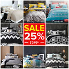 Logan & Mason Doona Duvet Quilt Cover Set Single Double Queen King Size Bed NEW