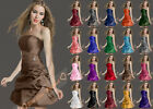 STOCK Bridesmaid Dress Wedding Prom Dress Homecoming Gowns Size 6 8 10 12 14 16+