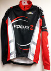 Focus Windproof Thermal Cycling Jacket in Black. Made in Italy by GSG