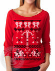 FAIR ISLE DARYL DIXON The Walking Dead Ugly Xmas Sweater Zombies N6951 T Shirt
