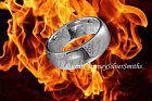 Silver TUNGSTEN The One Ring Lord Hobbit With Chain