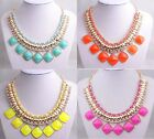 Hot Selling New Fashion  Crystal Bib Necklace A1957